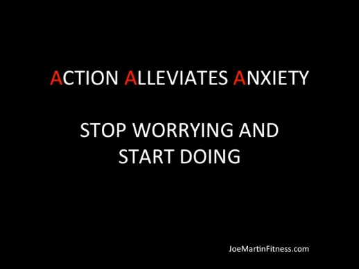 Action, Alleviates, Anxiety