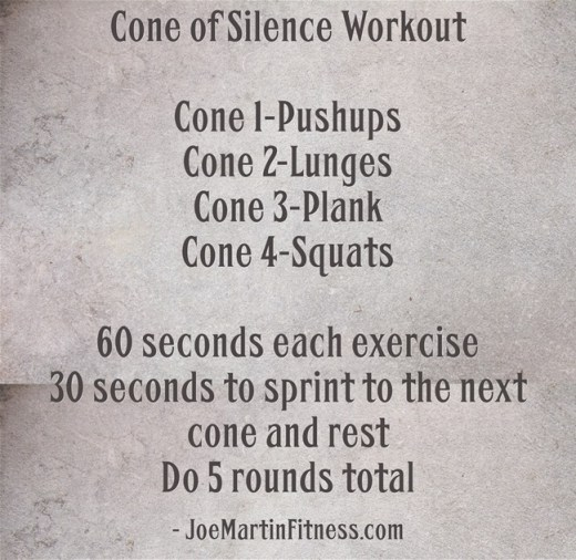 Cone-of-Silence-Workout