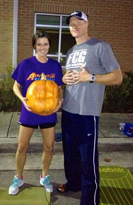 Even the pumpkins get in shape at boot camp