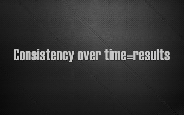 Consistency-over