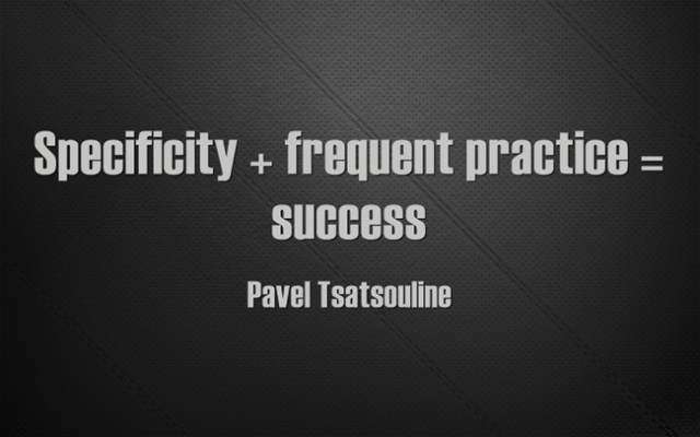 Specificity-frequent