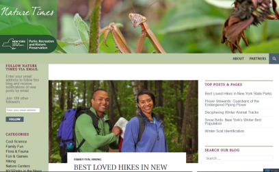 Nature Times webpage