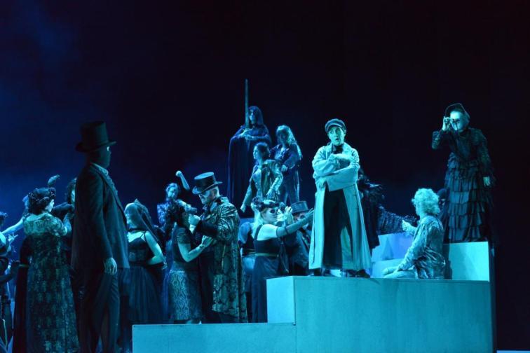 Maskenball, Theater Altenburg-Gera, Regie: Jörg Behr, Foto: Jörg Behr