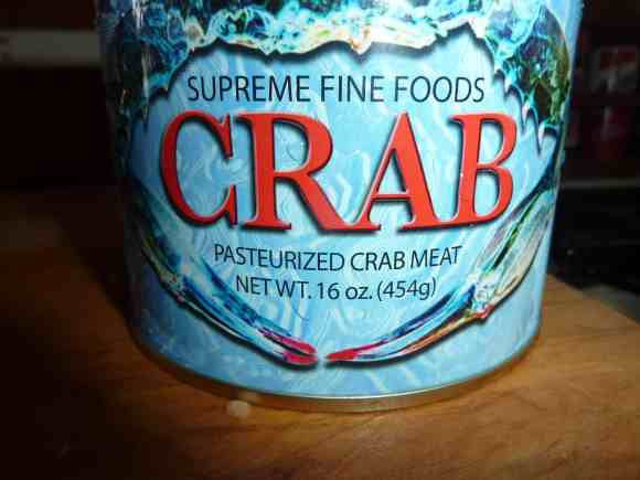 Special crab meat for delicious crab cakes.   joeshelthymeals.com