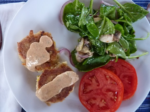 Delicious crab cakes. Easy to make recipe and they are absolutely the best tasting crab cakes!   joeshealthymeals.com
