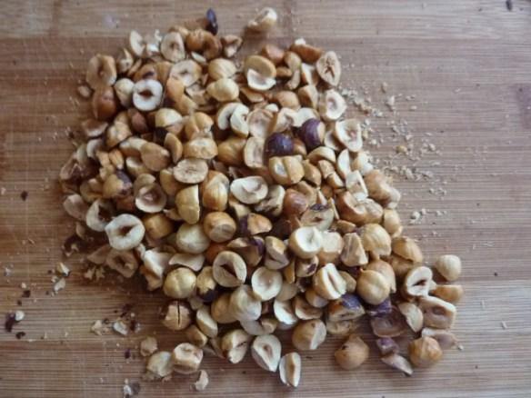 Chopped Hazelnuts