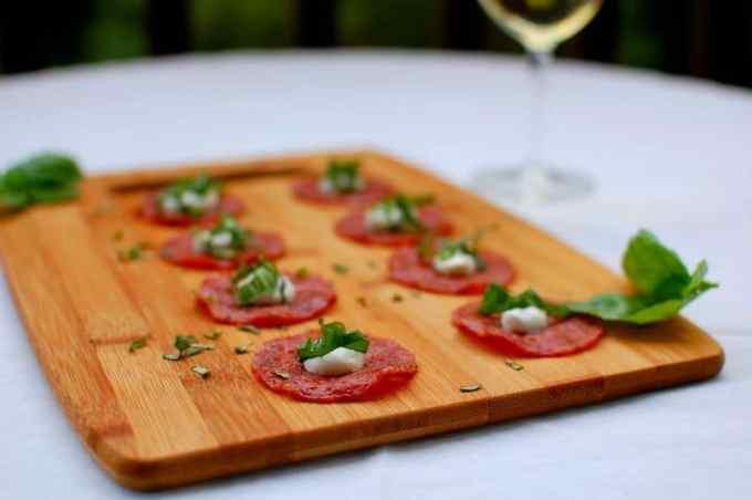 salami appetizer | joeshealthymeals.com