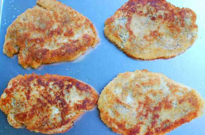 fried cutlets | joeshealthymeals.com