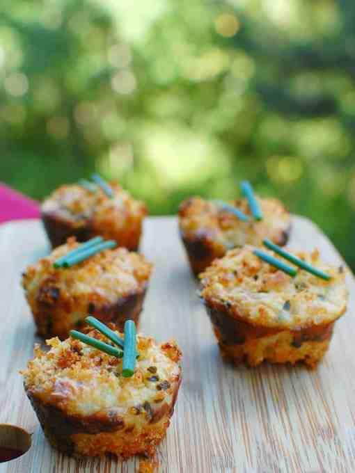 mini crab cake appetizer | joeshealthymeals.com