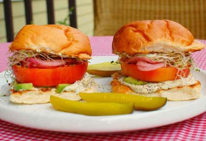 tomato sandwich | joeshealthymeals.com
