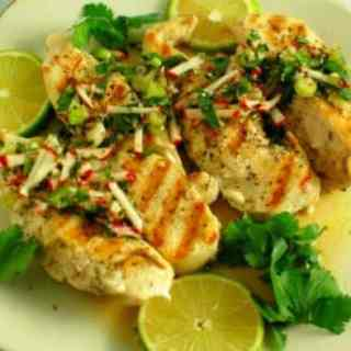 Grilled Chicken Chimichurri Sauce Recipe