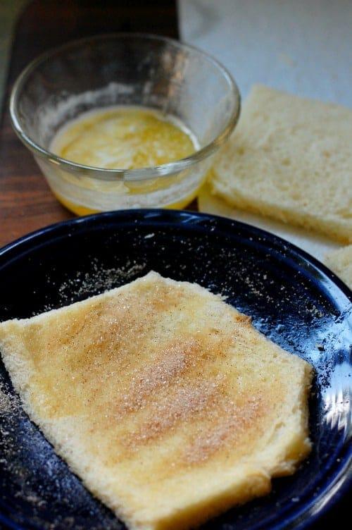 bread butter sugar