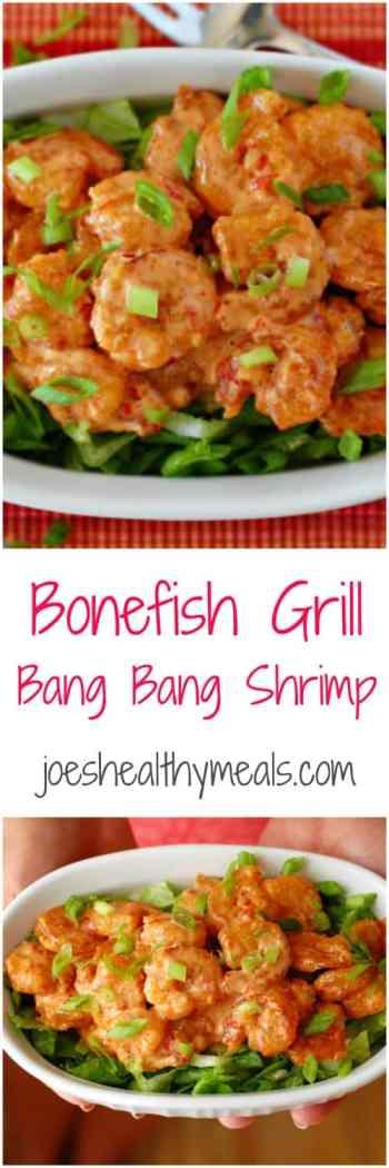 Bonefish Grill bang bang shrimp collage