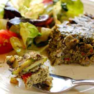 Healthy no crust vegetable quiche. Scrumptious, low calorie quiche. Sure to be a hit with your family.   joeshealthymeals.com