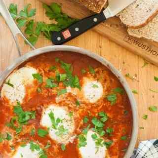 Shakshuka – Eggs Poached in Tomato Sauce