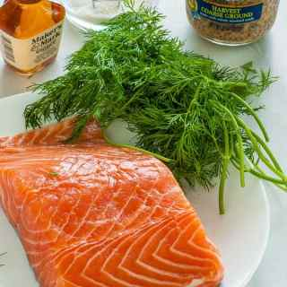 Gravad Lax with Mustard-Dill Sauce