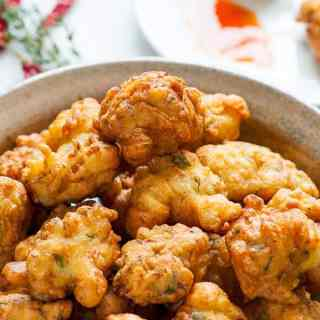 Caribbean salt cod fritters. Tasty appetizer everyone will love. | joeshealthymeals.com
