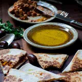 Feta Greek Style Quesadillas