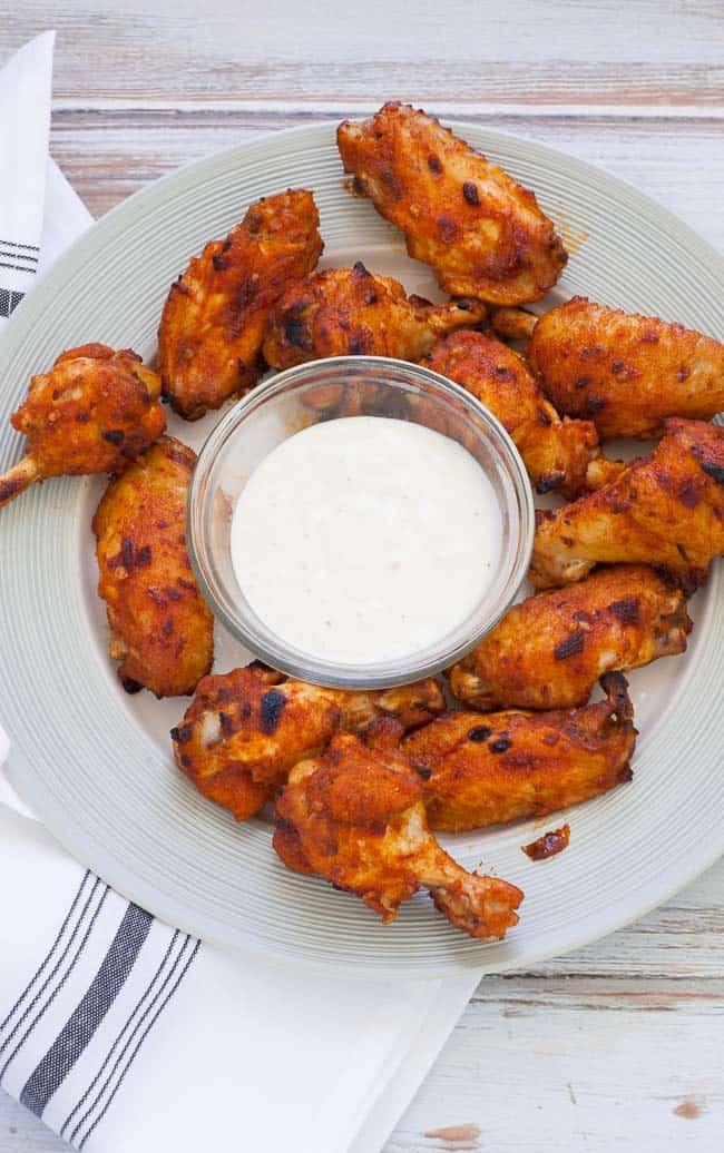Instant pot glazed chicken wings | joeshealthymeals.com