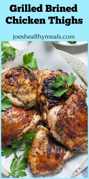 Simple chicken brine for grilling gives the chicken a great flavor profile. Try it the next time you are grilling. #chickenbrine #grilledchicken #chicken