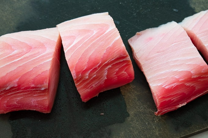 Mahi mahi fish filets.