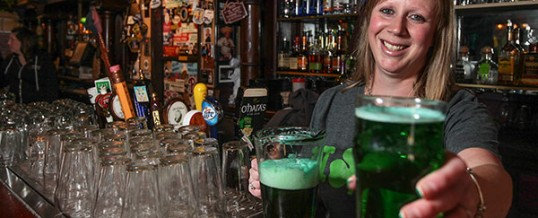 100 years ago, an Irishman invented green beer