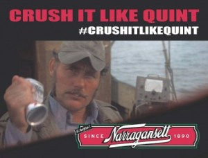 crush it like quint