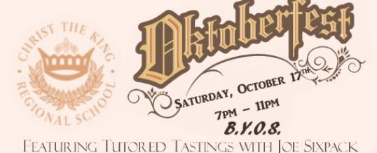 Oktoberfest at Christ the King Regional School – Oct. 17