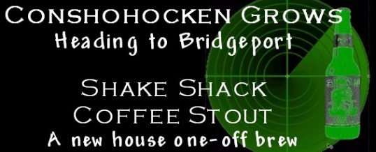 Beer Radar: Conshy expands to Bridgeport. PLUS: A new stout from Shake Shack