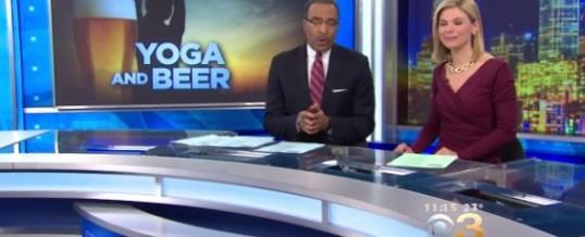 Happy Hour Yoga on CBS-Philly