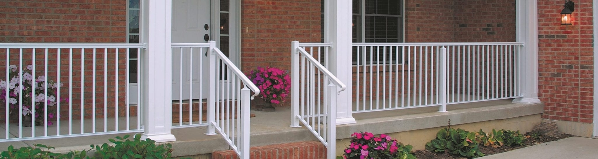 Residential Columns Railings Waukesha Milwaukee Wi | Safety Handrails For Outdoor Steps | Railing Kits | Simplified Building | Wrought Iron | Wood | Metal