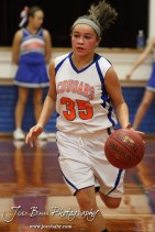 during the Otis-Bison Junior High Girls Basketball games versus Macksville in Otis-Bison Junior High in Bison, Kansas on January 16, 2014. (Photo: Joey Bahr, www.joeybahr.com)