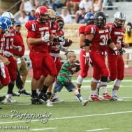 during 2015 Kansas Shrine Bowl with the East Squad winning 21 to 0 over the West Squad