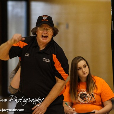 during the KSHSAA Class 1A Division I State Volleyball Championships
