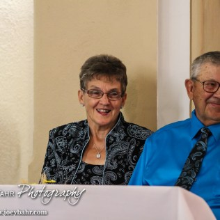 During the Wedding of Marvin and Jenny Schneider