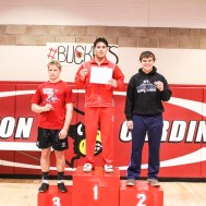 The Hoisington Cardinal Corner Classic Wrestling Tournament was held at the Hoisington Activity Center in Hoisington, Kansas on December 16, 2016. (Photo: Joey Bahr, www.joeybahr.com)