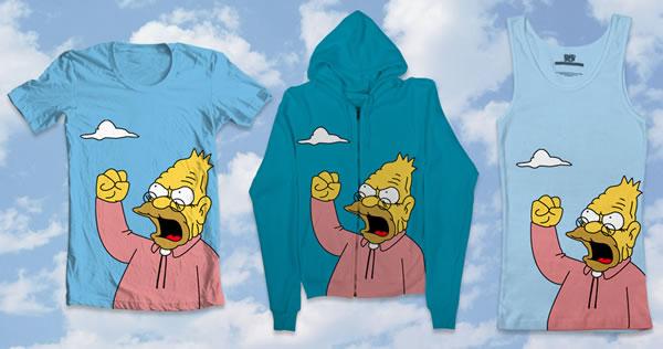 Grampa Simpson S Yell Cloud