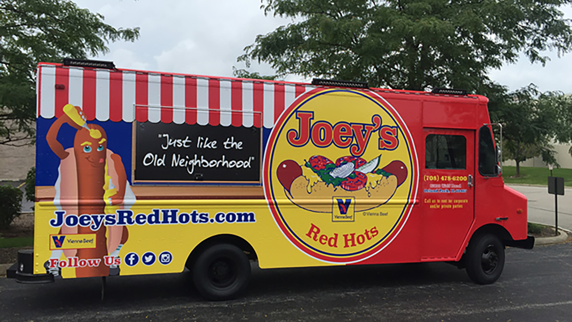 Joeys Red Hots Orland Park Food Truck(1)