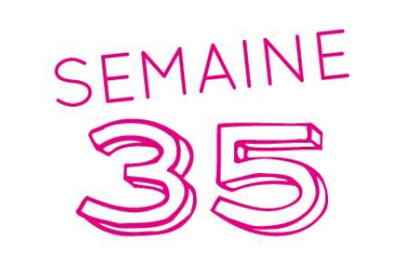 Semaine 35…