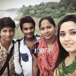 kajal raghwani family photo hd