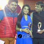 Akshra singh got best actress award