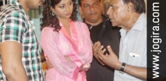 Bhojpuri Film Ghamashan shooting set