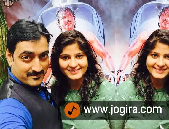 Bhojpuri film Gadar success party with Neha shree