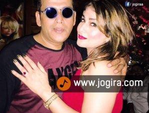 रवि किशन के जन्मदिन पार्टी में पाखी हेगड़े