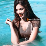 Aanchal Soni in pool