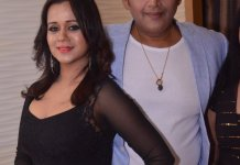 Ravi kishan and Gunjan pant