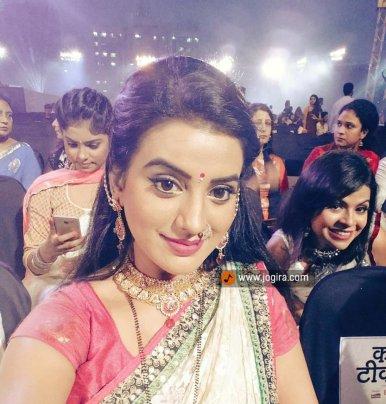 Akshara singh in show