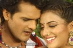 Akshara singh with Khesari lal