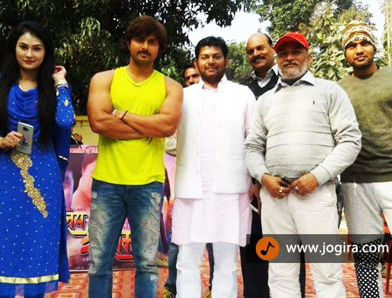 bhojpuri film jai shri ram shooting started