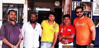 shahbaaz khan complete dubbing for bhojpuri film jaan hmar